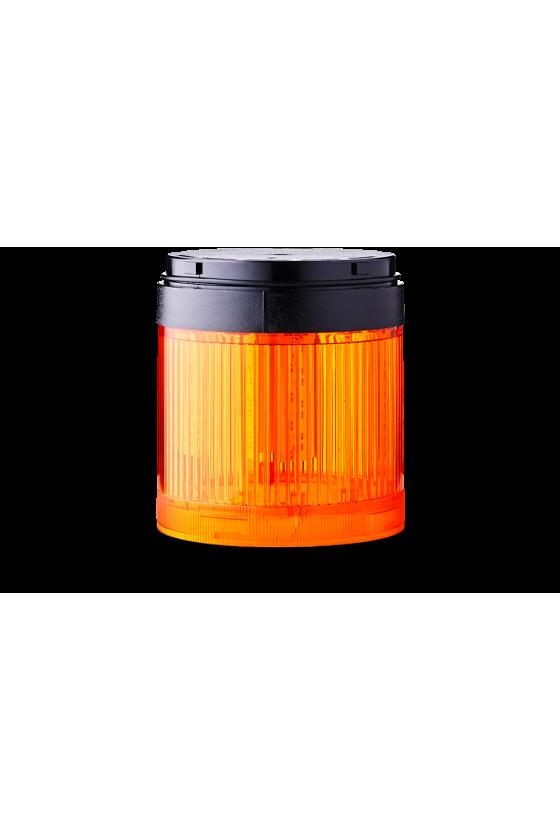 210501900 SLL SIGNAL70 Indicador luz fija color ambar base negra hasta 250 V AC/DC