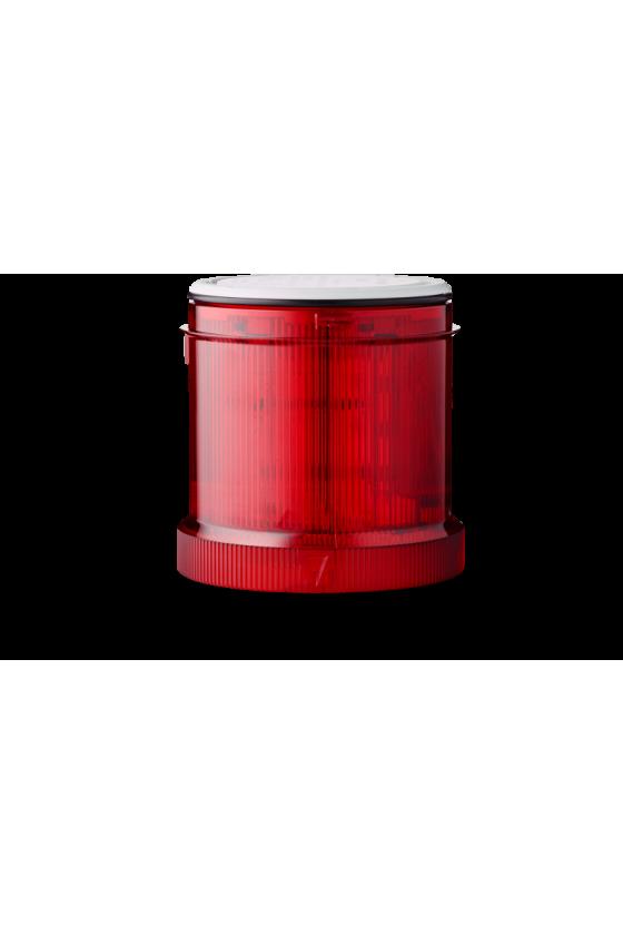 210502900 SLL SIGNAL70 Indicador luz fija color rojo base negra hasta 250 V AC/DC