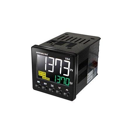 VX4UMNAA1 Control de temperatura digital LCD 48x48mm entrada universal 1 salidas a relevador 1 salida de alarma 100-240vca