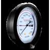 """TG200120 Manómetro seco con carátula de 8"""" CNX a proceso de 1/4"""" NPT POST Bourdón de berilio tons-kgf exac. de 0.5%.(120 Tons)"""