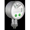 """80D5002000 Manómetro caja de acero inox. 316 CNX 1/4"""" NPT INF LCD bar/psi/Mpa/kpa exac. de 0.5%. Bat. de litio 3V.(2000 psi)"""