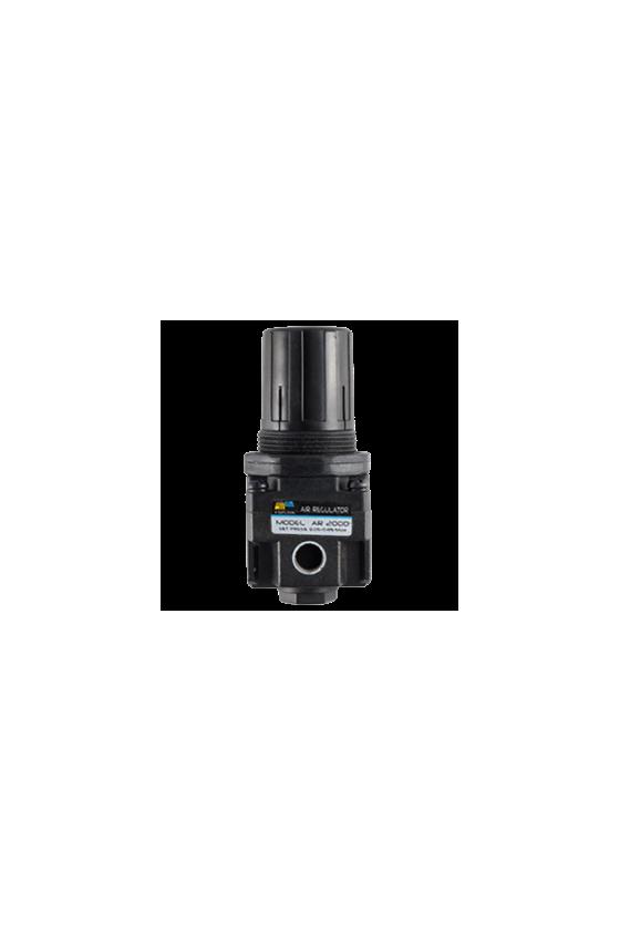 """AR200002 Regulador de aire baja presión diam. de 1/4"""" NPT  reg. de 7 a 123 psi temp.de 5 a 60°C flujo max. 550 Lt/min"""