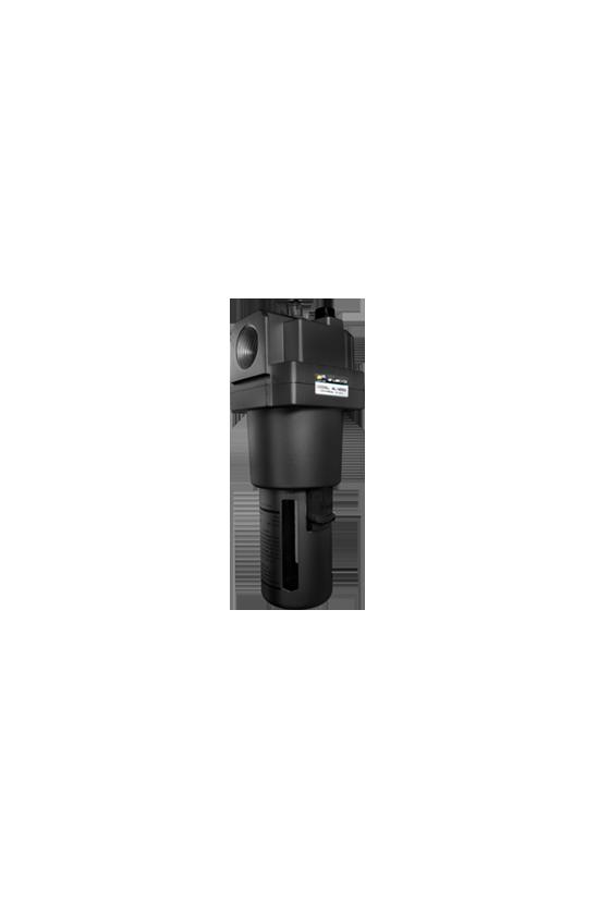 """AL500010 Lubricador de aire baja presión con CNX de 1""""NPT vaso de PC. capacidad de 25 cm3 MAWP hasta 145 psi 800 l/min."""