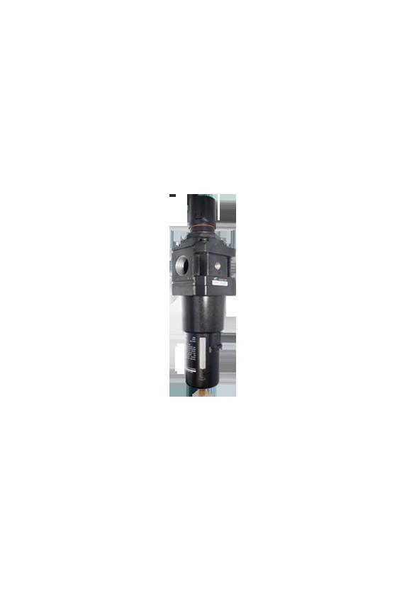 "AW500010Filtro-regulador de aire baja presión de 1"" NPT vaso de PC. precisión de filtrado 25 micrómetro 550 l/min"