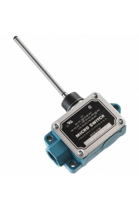 BAF1-2RN18-RH Interruptor en caja de alta capacidad, Series BAF/DTF MICRO SWITCH, actuador con palanca oscilante