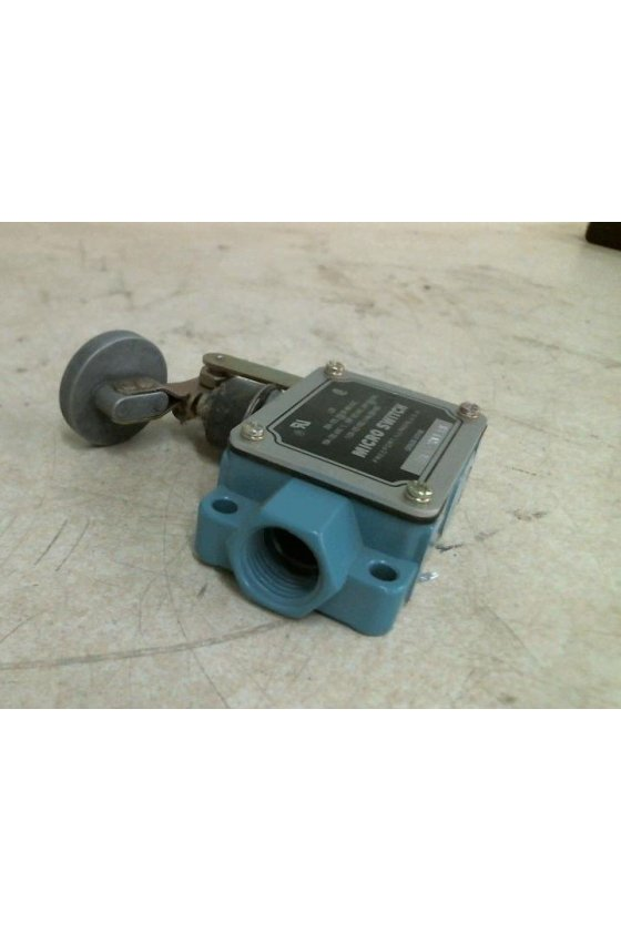 BAF1-2RN4-RH Interruptor en caja de alta capacidad, Series BAF/DTF MICRO SWITCH, Actuador manual con botón