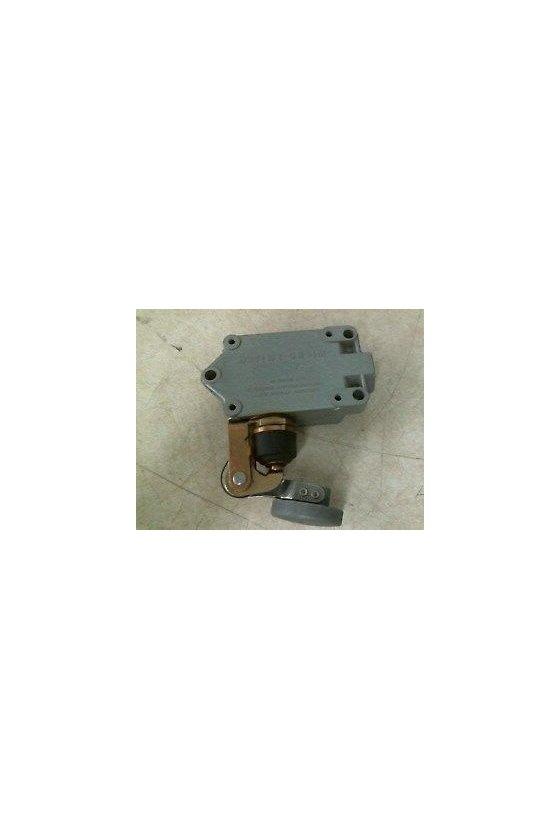 BAF1-2RN4-LH Interruptor en caja de alta capacidad, Series BAF/DTF MICRO SWITCH, Actuador manual con botón