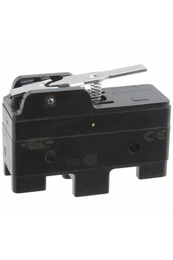 BZ-2RW80283-PC2 Interruptor básico grande de primera calidad Serie BZ, Circuito de un polo doble tiro, 15 A a 250 VCA