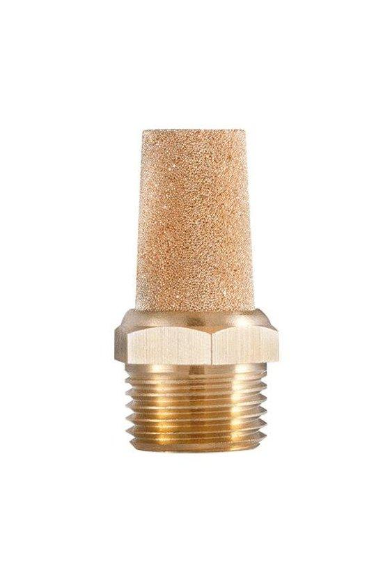 """BSL18 Silenciador en pino estándar en bronce modelo BSL.(1/8"""")"""