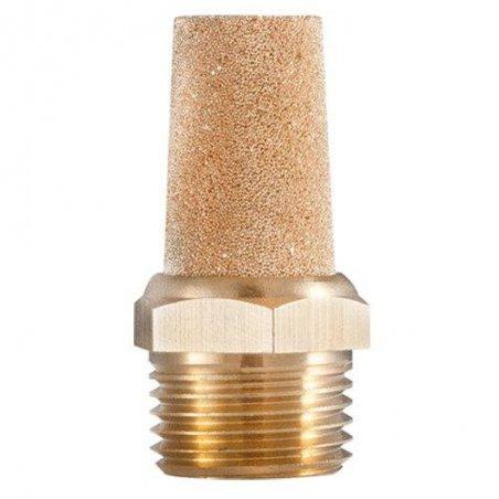 """BSL38 Silenciador en pino estándar en bronce modelo BSL.(3/8"""")"""