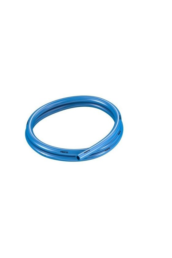 "PU8MM Manguera de poliuretano en color azul. rango de operación a 116 psi presión de explosión de 290 psi. (8MM"")"