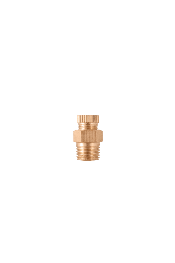 4002 Válvula dren de 1/4   NPT  cuerpo de bronce.