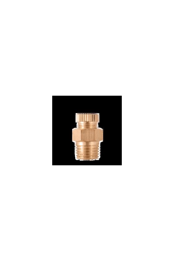 4004 Válvula dren de 1/2   NPT  cuerpo de bronce.
