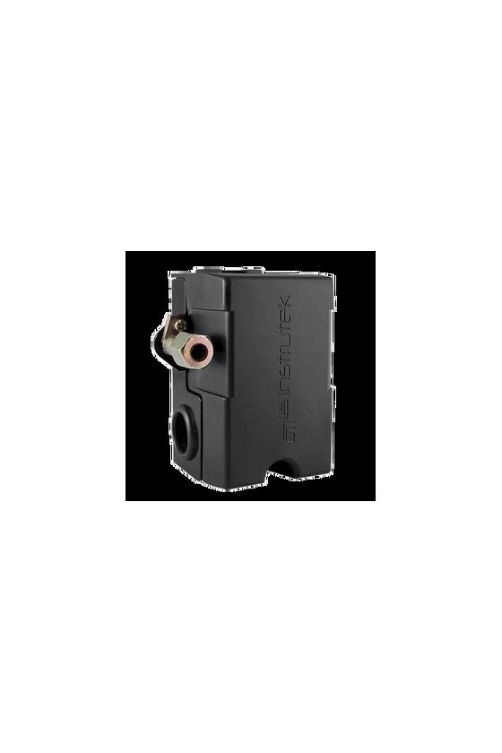 5002S Switch de presión tipo Furnas con conexión de 1/4 NPT alimentación de 110 VCA, 85 a 115 psi con manifold.