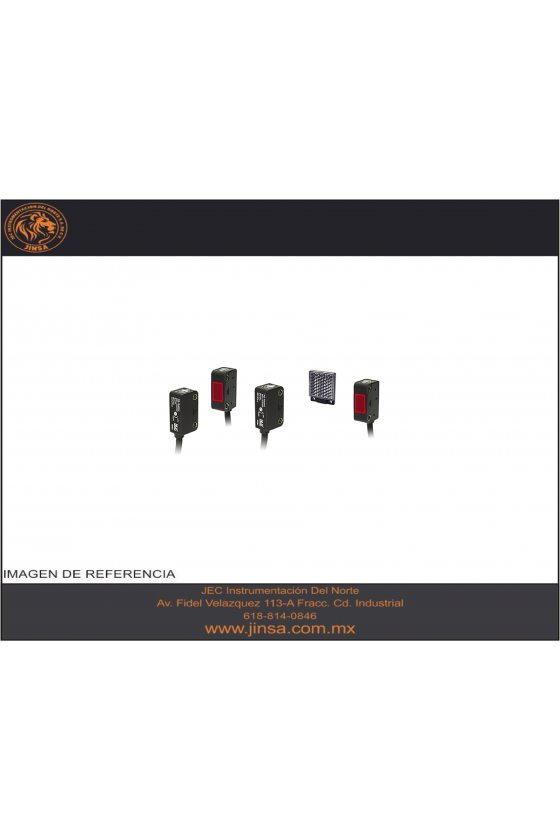 PSD5RP Mini Fotocelda  descriminacion  10-50mm PNP 12-24vcd