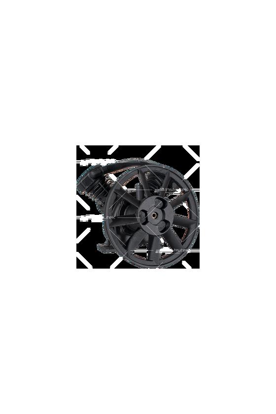 TB10  Bomba de aire baja presión - Pistones en   V   (1 HP). 2 cilindros  187 L/min (6.7 C.F.M)  1000 R.P.M. Max.
