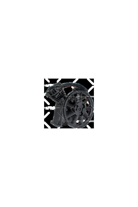 TB30  Bomba de aire baja presión - Pistones en   V   (3 HP). 2 cilindros 366 L/min (12.9 C.F.M)  1200 R.P.M. Max.