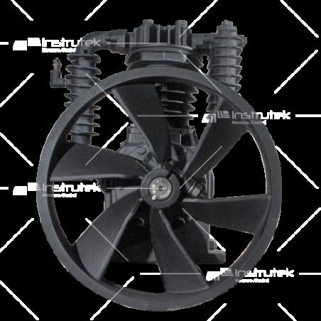 TX50C Bomba de Aire alta presión (5 HP). 2 cilindros  624 L/min (22 C.F.M)  810 R.P.M. Max. 200 psi Hierro fundido