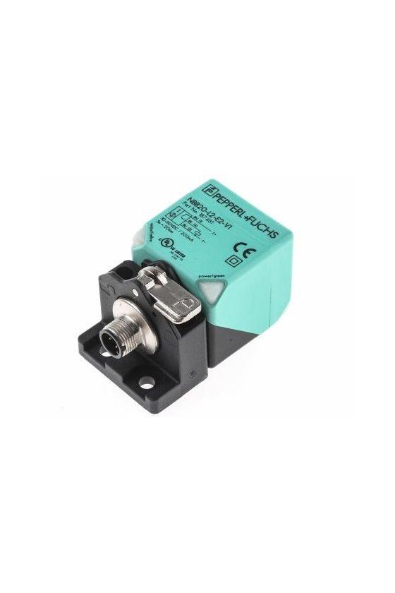 187481 SENSOR CAPACITIVO RHINO 20 SENSADO PNP N.A CONECTOR V1 NBB20-L2-E2-V1