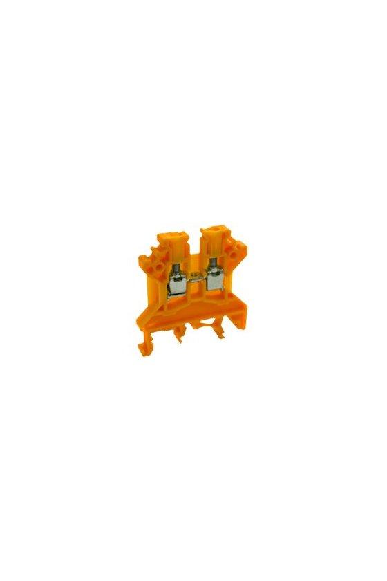 1001.3 RK 2,5-4 Naranja Clemas de paso