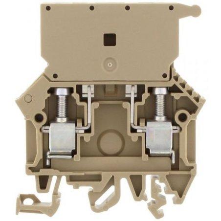 1101.2 SIK 10 Clemas portafusibles color beige 10mm²/22-12AWG