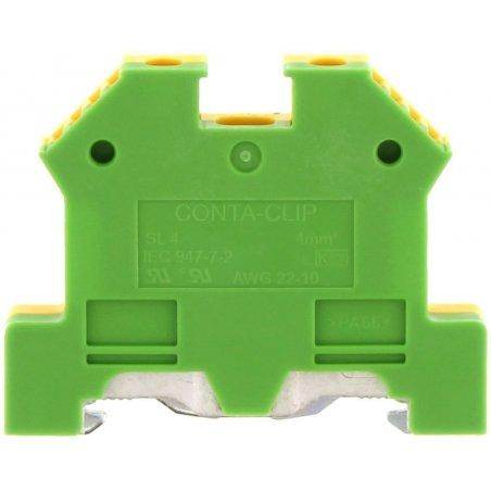1212.2 SL 4/35 Verde/Amarillo Clemas de tierra