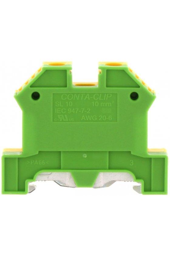 1213.2 SL 10/35 Verde/Amarillo Clemas de tierra