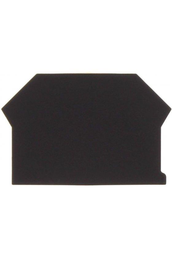 2001.4 AP 2,5-10 Negro Tapas para clema de doble paso