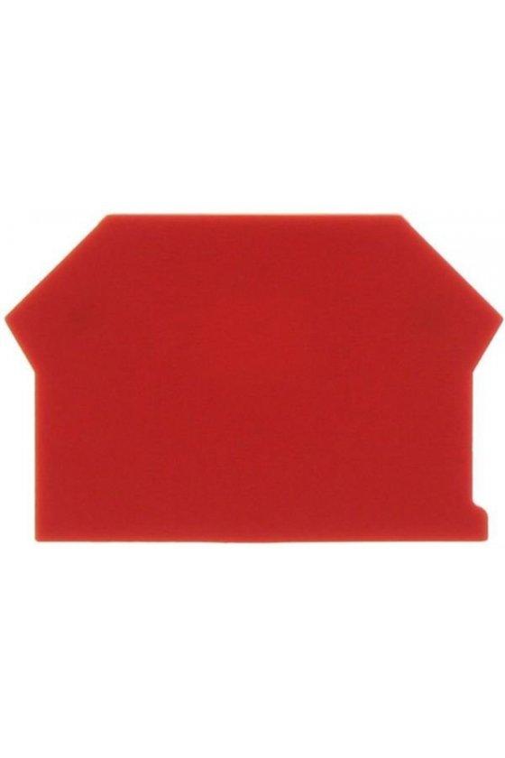2001.9 AP 2,5-10 Rojo Tapas para clema de doble paso