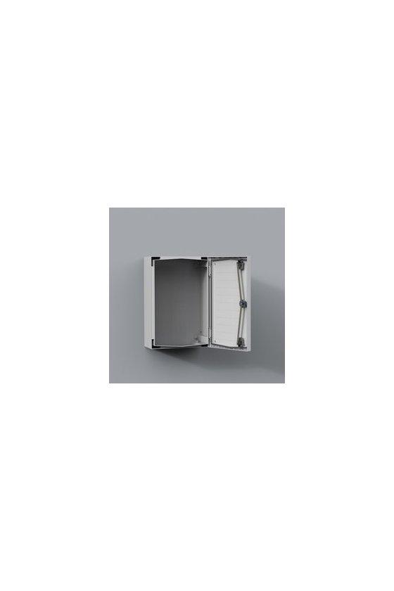 "UCP860 Gabinete ""Uniplast"" poliéster reforzado c/fibra de vidrio 800x600x300mm IP66/NEMA 4 RAL7035"