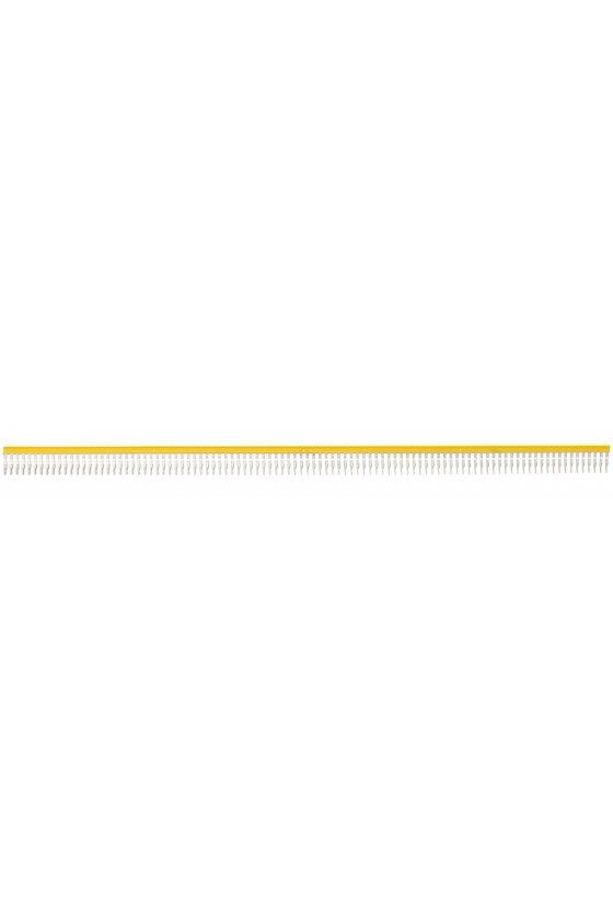 3719.8 ZQI 2,5/0,5 m/99 Polos Puente conexión de muelle color amarillo
