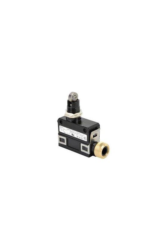 SL1-A Interruptor límite de carrera Serie SL1 MICRO SWITCH, Botón superior con rodillo