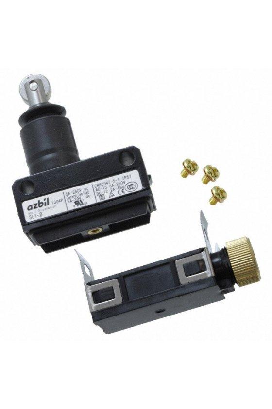 SL1-B Interruptor límite de carrera Serie SL1 MICRO SWITCH, Botón superior con rodillo