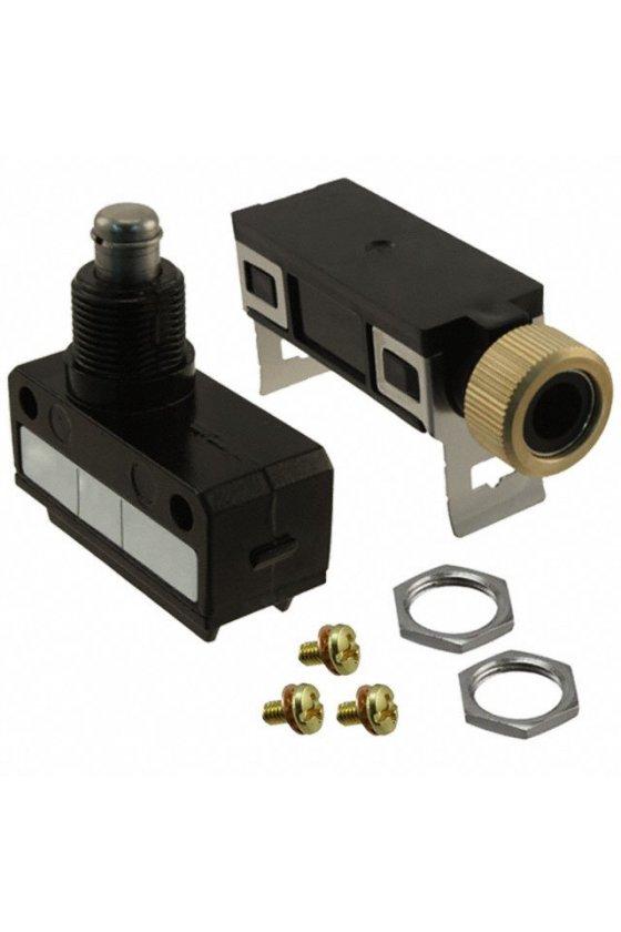 SL1-H Interruptor límite de carrera Serie SL1 MICRO SWITCH, Émbolo superior - Corto