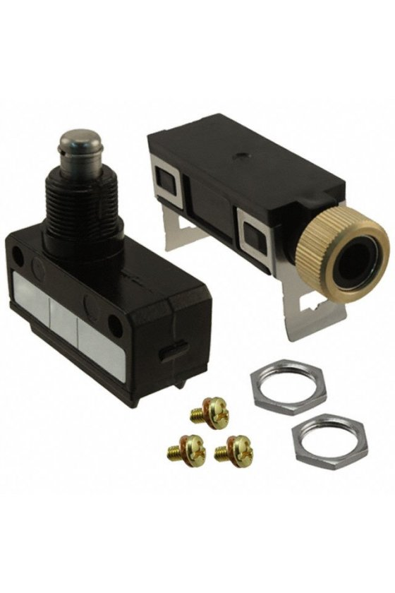 SL1-P Interruptor límite de carrera Serie SL1 MICRO SWITCH, Brazo con rodillo superior