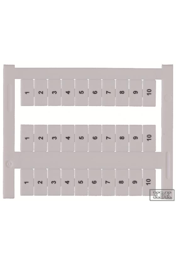 9037.7 PMC BSTR 5/36 FS 1-12 Blanco Marcador de terminales