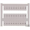 9038.7 PMC BSTR 5/36 FS 13-24 Blanco Marcador de terminales