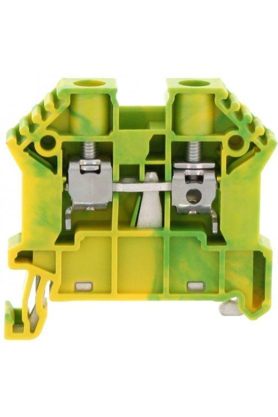 17115.2 SSL 10/2A Verde/Amarillo Clemas de tierra
