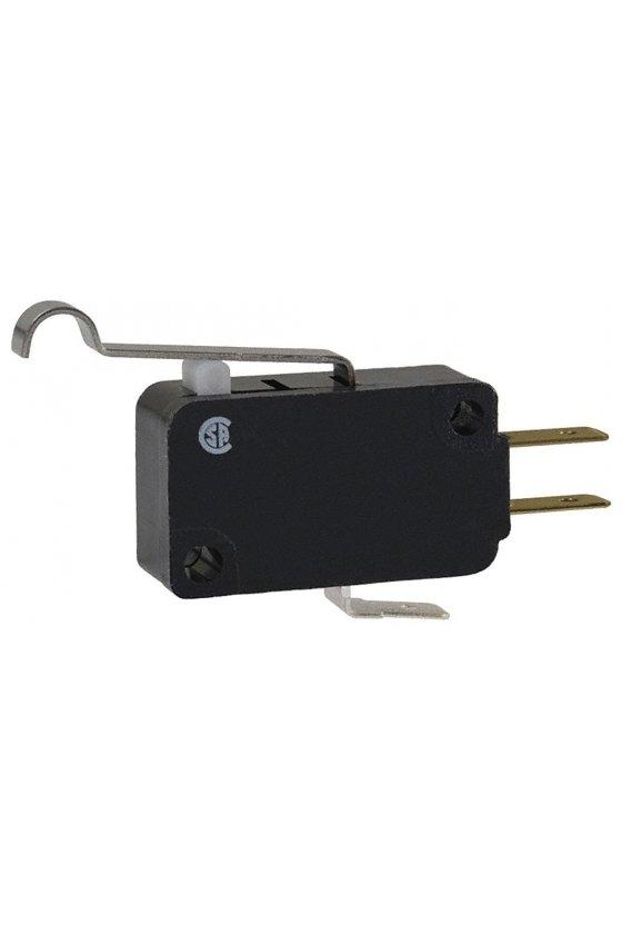 V7-1B17D8-263 Interruptor básico miniatura Serie V7 MICRO SWITCH, Circuito de un polo doble tiro, 11 A a 277 VCA