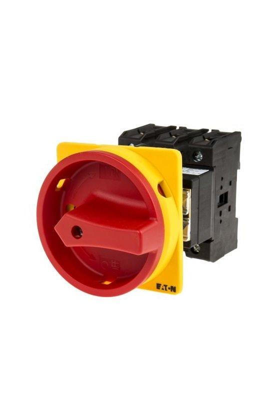 19891 Interruptor principal, P3, 63 A, montaje empotrado, 3 polos, apagado de emergencia P3-63/EA/SVB/HI11