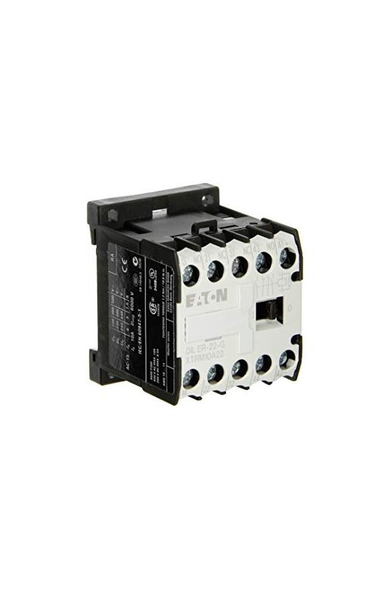 21871 Contactor relay, 2N/O+2N/C, AC - DILER-22(110V50/60HZ)
