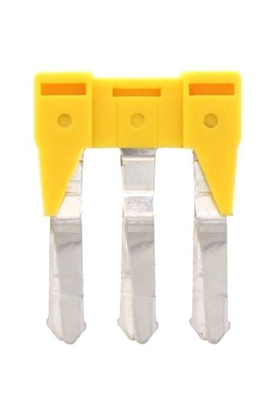 17212.8 SQI 4/3 amarillo Puente de 3 polor para SRK 4