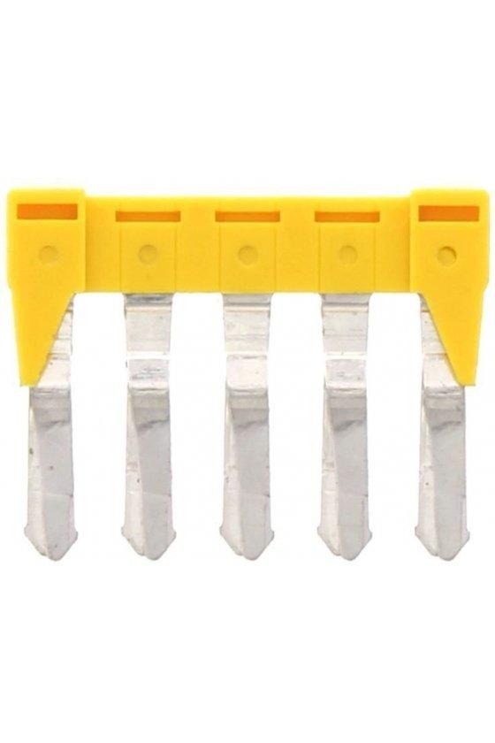 17214.8 SQI 4/5 amarillo Puente de 5 polos para SRK 4
