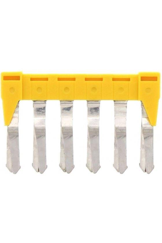 17215.8 SQI 4/6 amarillo Puente de 6 polos para SRK 4