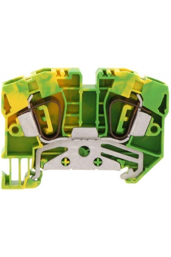 3589.2 ZSL 6/2A Verde/Amarillo Clemas de tierra