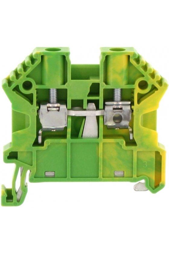 3598.2  ZSL 10/2A Verde/Amarillo Clemas de tierra
