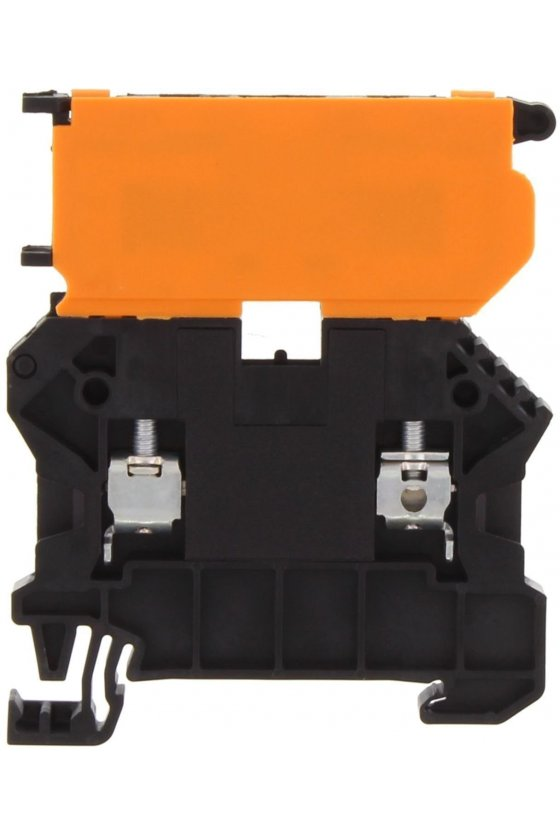 17150.4 SSIK 4/2A Terminales porta fusíble negras  (50 piezas)