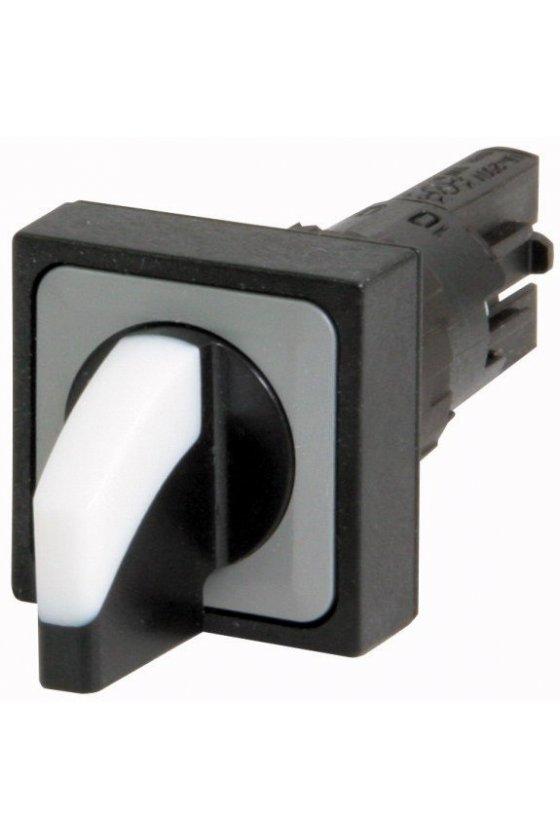 72375 Interruptor selector, 3 posiciones, blanco, mantenido - Q25WK3R2