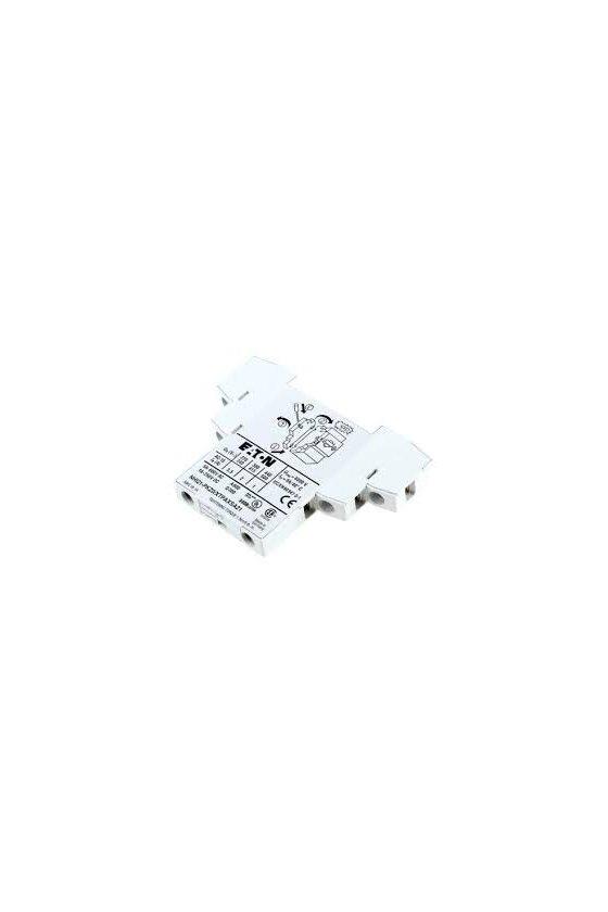 72895 Contacto auxiliar estándar, 1N/O + 2N/C, conexión por tornillo - NHI12-PKZ0
