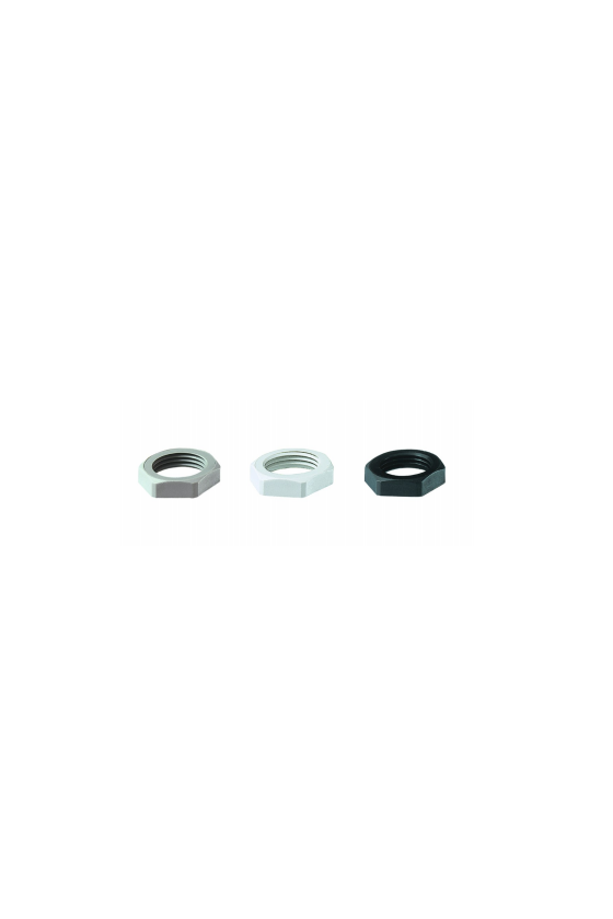 50.263 PA7035 Contratuerca de poliamida M 63x1,5